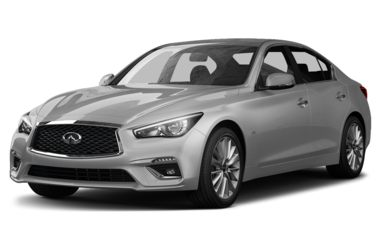 3/4 Front Glamour 2018 INFINITI Q50