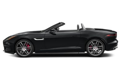 90 Degree Profile 2018 Jaguar F-TYPE