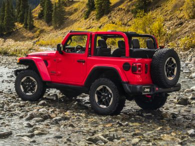 OEM Exterior  2018 Jeep All-New Wrangler