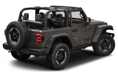 3/4 Rear Glamour  2018 Jeep All-New Wrangler