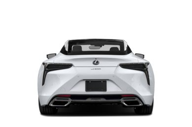 Rear Profile  2018 Lexus LC 500h