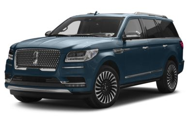 3/4 Front Glamour 2018 Lincoln Navigator