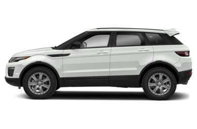 90 Degree Profile 2018 Land Rover Range Rover Evoque