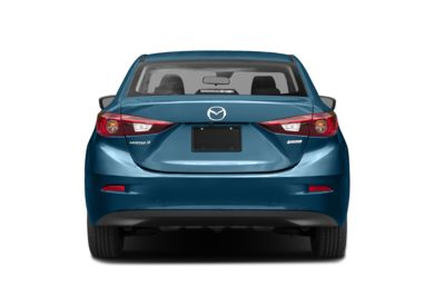Rear Profile  2018 Mazda Mazda3
