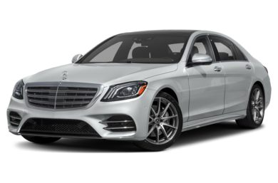 3/4 Front Glamour 2018 Mercedes-Benz S-Class