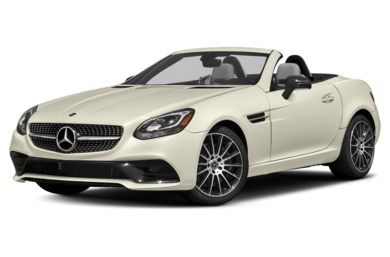 3/4 Front Glamour 2018 Mercedes-Benz SLC-Class