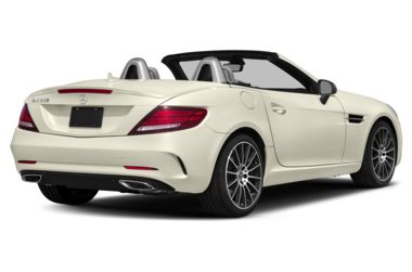 3/4 Rear Glamour  2018 Mercedes-Benz SLC-Class
