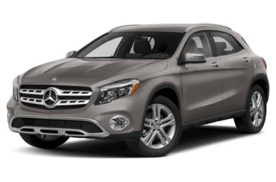 3/4 Front Glamour 2018 Mercedes-Benz GLA-Class
