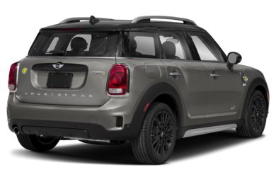 3/4 Rear Glamour  2019 MINI Countryman