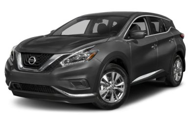 3/4 Front Glamour 2018 Nissan Murano