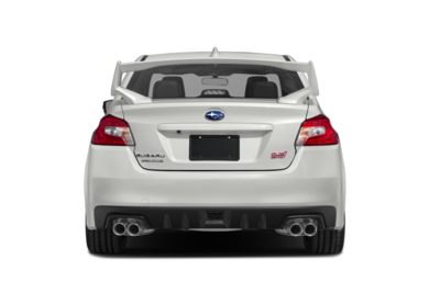 Rear Profile  2018 Subaru WRX STI
