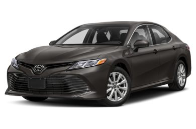3/4 Front Glamour 2018 Toyota Camry