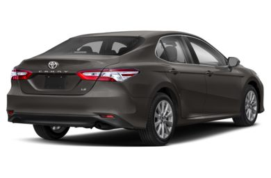 3/4 Rear Glamour  2018 Toyota Camry