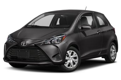 3/4 Front Glamour 2018 Toyota Yaris