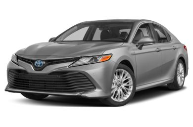 3/4 Front Glamour 2018 Toyota Camry Hybrid