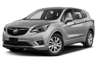 3/4 Front Glamour 2019 Buick Envision