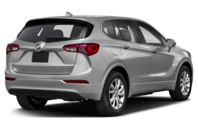 3/4 Rear Glamour  2019 Buick Envision
