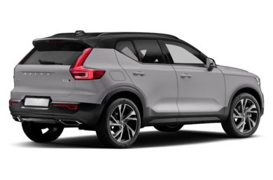 3/4 Rear Glamour  2019 Volvo XC40