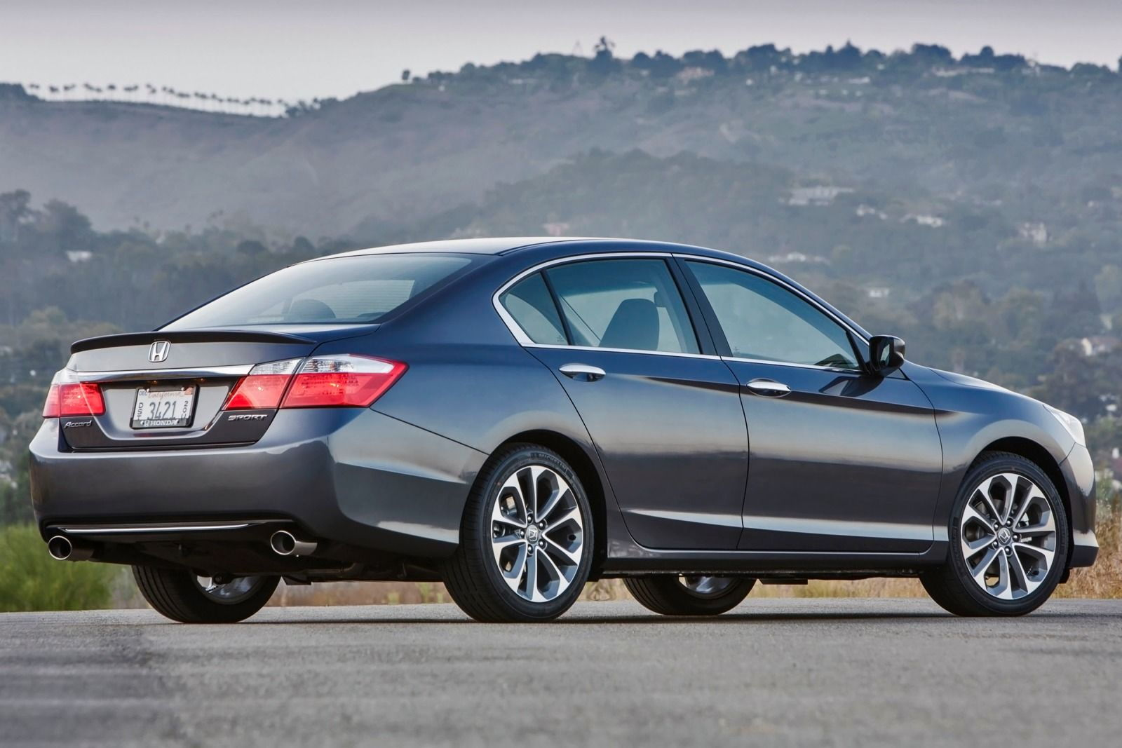 Most popular car colors 2015 - Honda Accord Rear