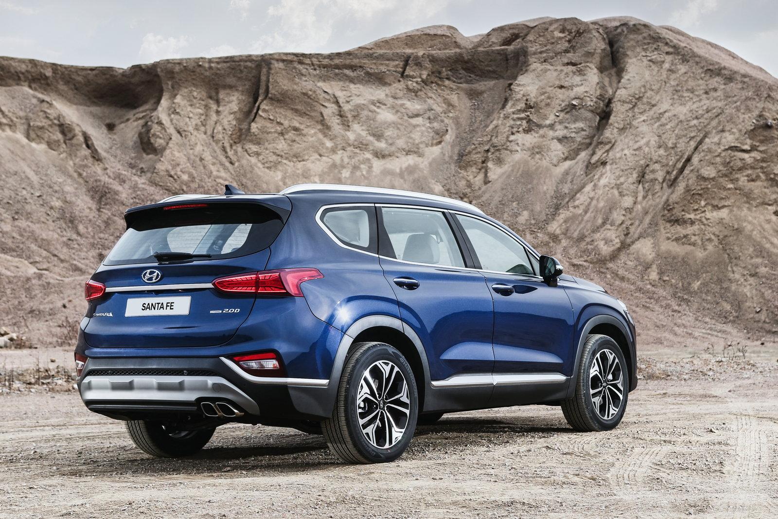 2019 Hyundai Santa Fe Redesign Info Pricing Release