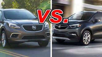 buick envision vs buick encore carsdirect. Black Bedroom Furniture Sets. Home Design Ideas