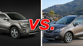 chevrolet equinox vs buick encore carsdirect. Black Bedroom Furniture Sets. Home Design Ideas