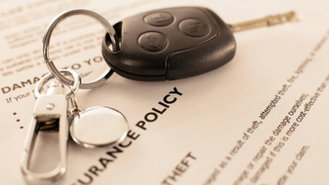 <p>car insurance with keys</p>
