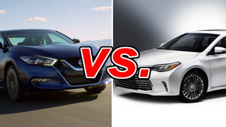 nissan maxima vs toyota avalon carsdirect. Black Bedroom Furniture Sets. Home Design Ideas