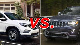 Acura Of Huntington >> Honda Pilot vs. Jeep Grand Cherokee - CarsDirect