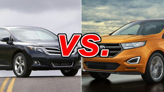 Toyota Venza Vs Ford Edge CarsDirect