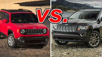 Nissan Rogue And Murano Comparison Jeep Renegade vs. Jeep Compass - CarsDirect