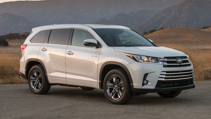 2018 Toyota Highlander Hybrid: Preview, Pricing, Release Date