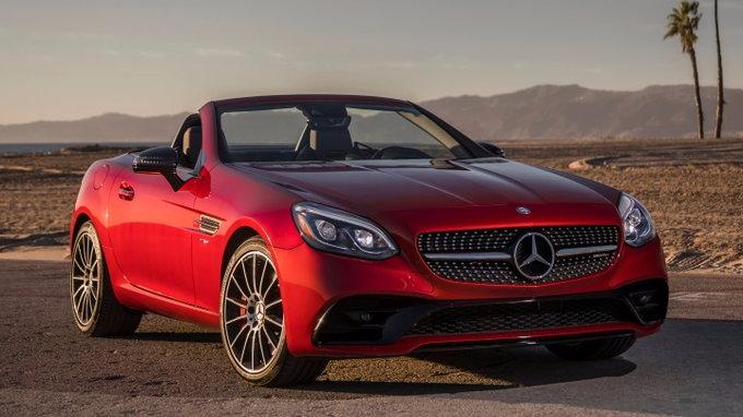 2018 mercedes benz slc class deals prices incentives for Mercedes benz incentives and rebates