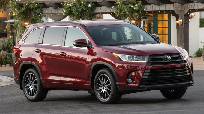 2018 Toyota Highlander Preview Pricing Release Date
