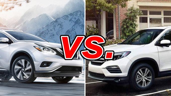 Nissan Murano vs Honda Pilot  CarsDirect