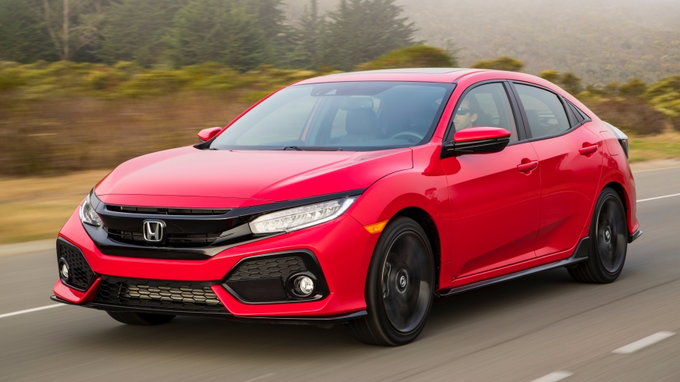 2018 honda civic preview pricing release date. Black Bedroom Furniture Sets. Home Design Ideas