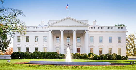 Image of the white house.