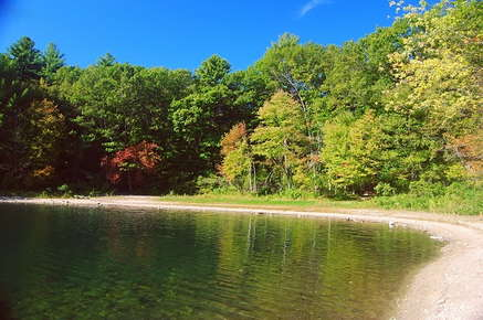 Image of Walden Pond.