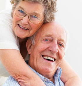 Image of an elderly couple.