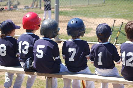 Image of a kids baseball team.