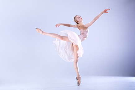 Image of a ballet dancer.