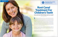 Root Canal Treatment for Children - Dear Doctor Magazine