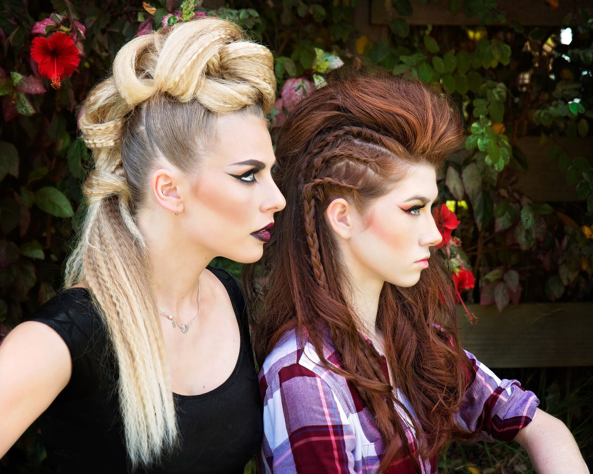 punk rock updo duo