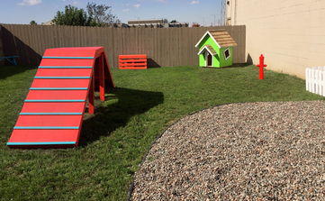 Boarding Play Yard