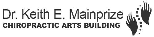 Dr. Keith E. Mainprize Chiropractic Arts Building Logo
