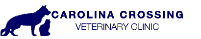 Carolina Crossing Veterinary Clinic Logo