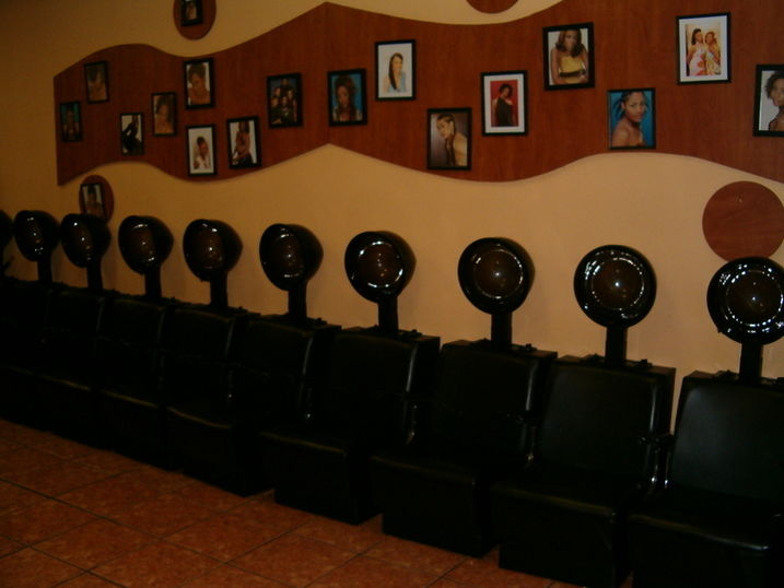 hair drying stations
