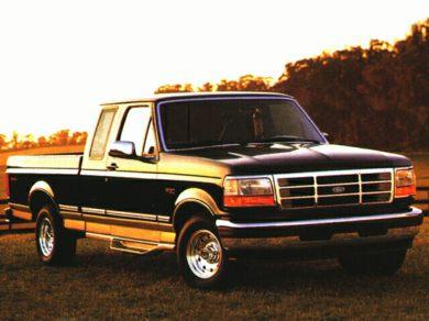 1996 ford f250 xlt speaker size
