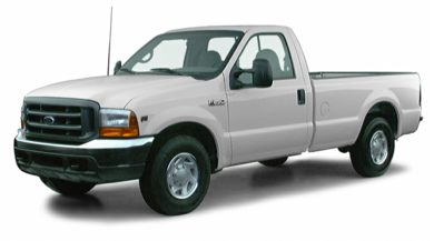 3/4 Front Glamour 2000 Ford F-250