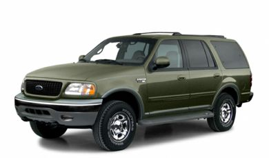 3/4 Front Glamour 2001 Ford Expedition